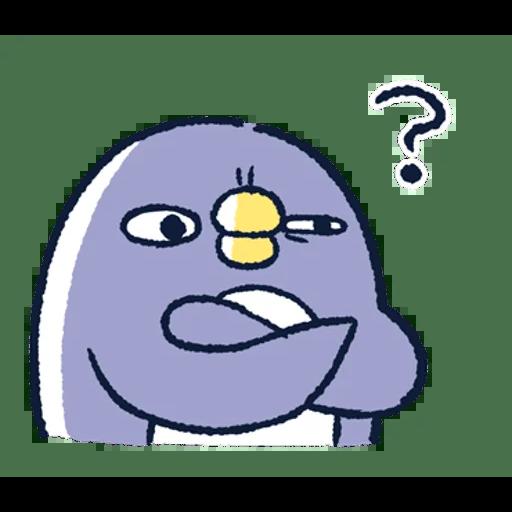 肥企鵝的內心話3 & 4 (1) - Sticker 7