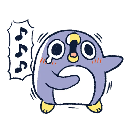 肥企鵝的內心話3 & 4 (1) - Sticker 10