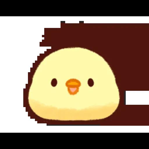 Pollitos emoji - Sticker 9