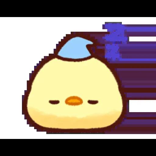 Pollitos emoji - Sticker 8