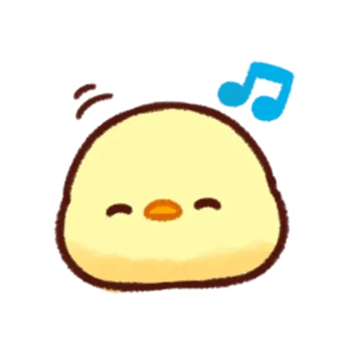 Pollitos emoji - Sticker 7