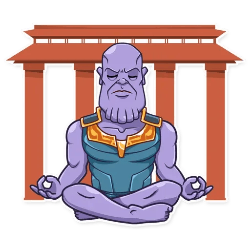 Thanos - Sticker 20