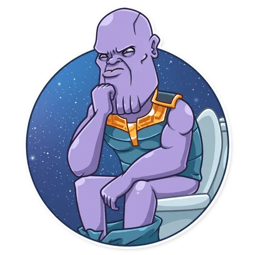 Thanos - Sticker 13