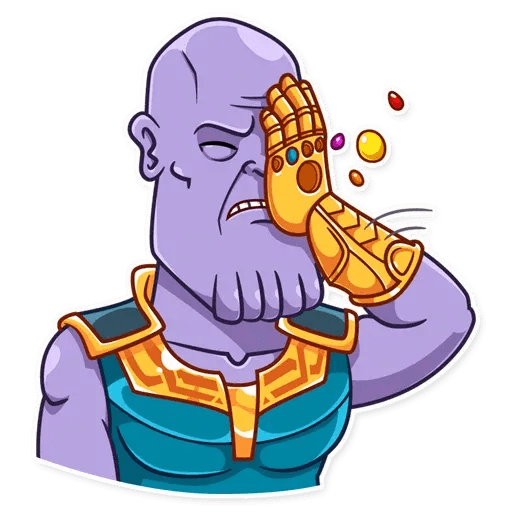 Thanos - Sticker 22