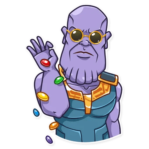 Thanos - Sticker 6