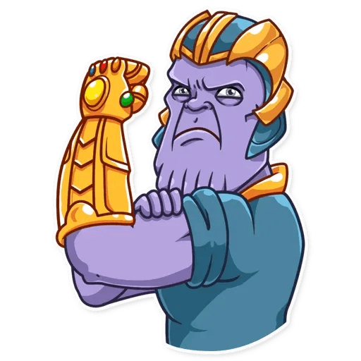 Thanos - Sticker 25