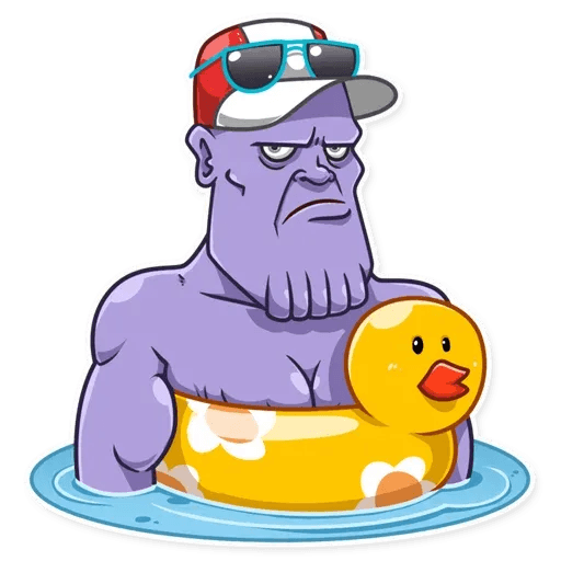 Thanos - Sticker 14