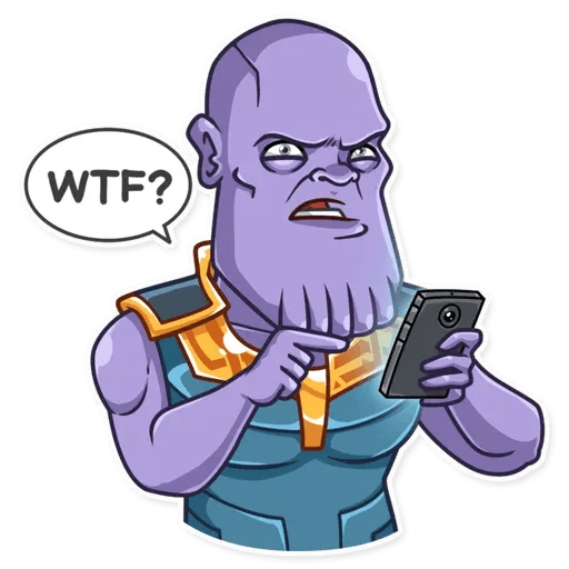 Thanos - Sticker 7