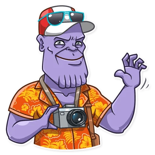 Thanos - Sticker 5