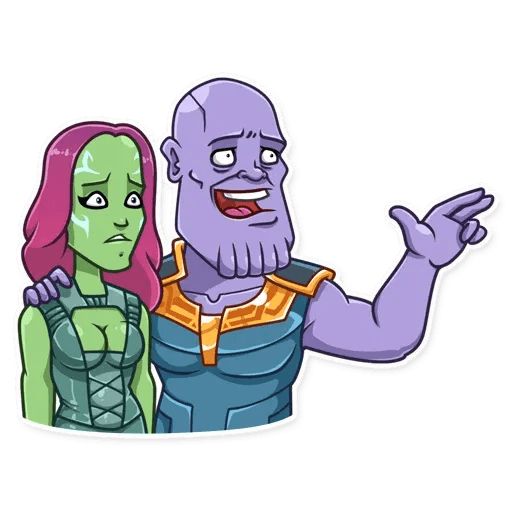 Thanos - Sticker 19