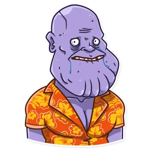 Thanos - Sticker 11