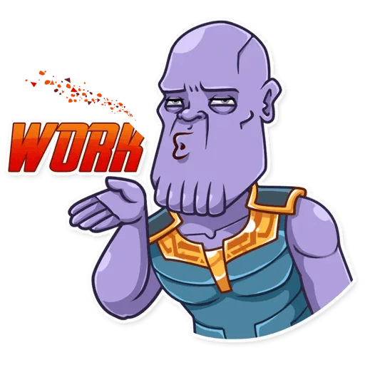 Thanos - Sticker 12