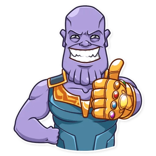 Thanos - Sticker 4