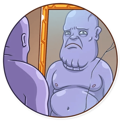 Thanos - Sticker 10