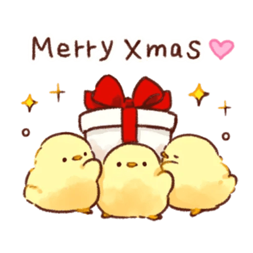 Christmas chick🎄 - Sticker 1