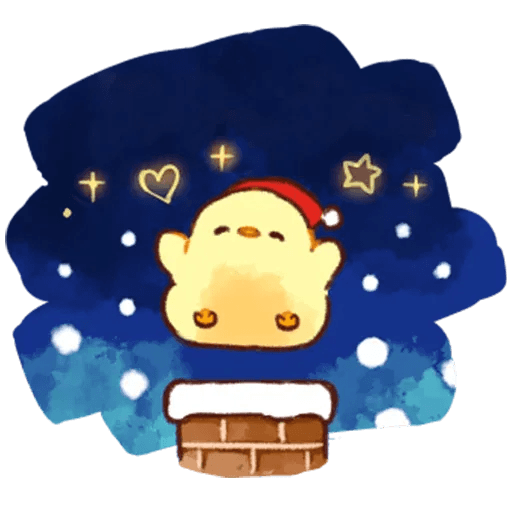 Christmas chick🎄 - Sticker 4