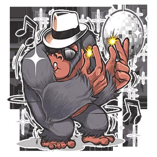 Mr. Gorilla - Sticker 20