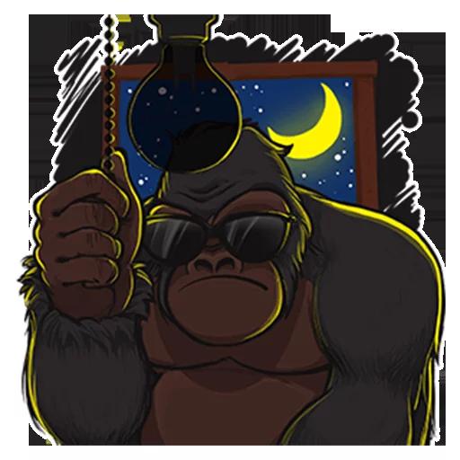 Mr. Gorilla - Sticker 27