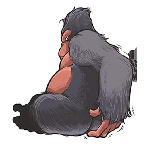 Mr. Gorilla - Sticker 21