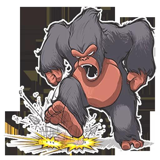 Mr. Gorilla - Sticker 11