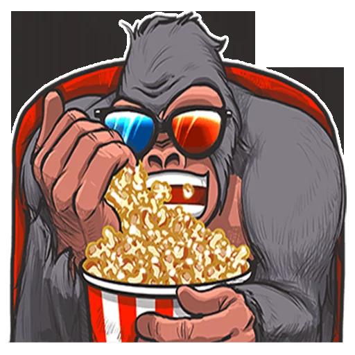 Mr. Gorilla - Sticker 17