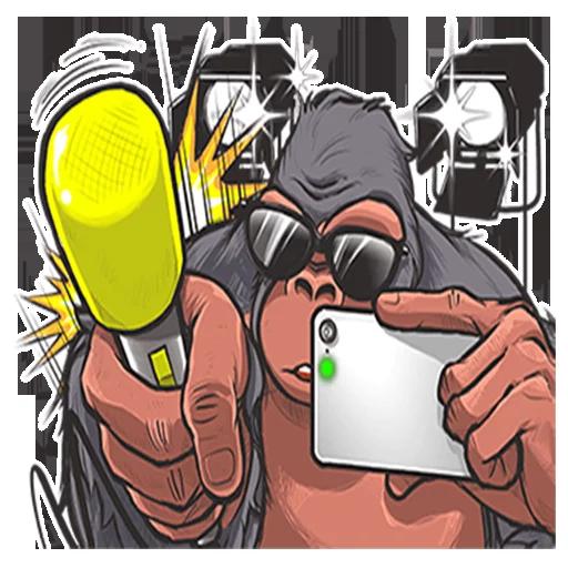 Mr. Gorilla - Sticker 30