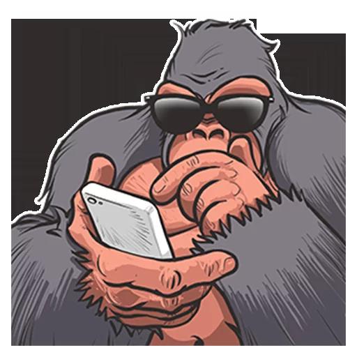 Mr. Gorilla - Sticker 25