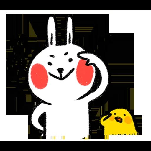 White - Sticker 22