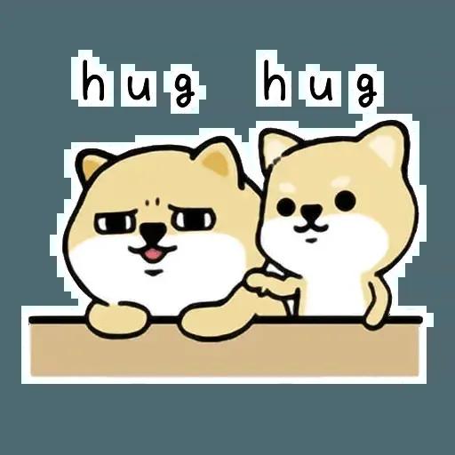 Shiba Try - Sticker 18