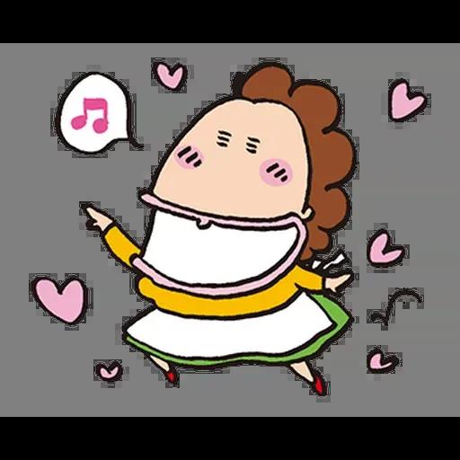 花師奶 - Tray Sticker