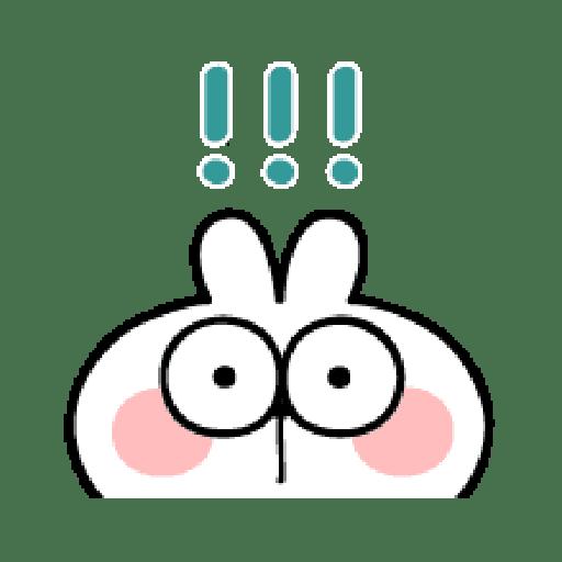 poiled Rabbit A Word Emoji 2 - Sticker 14