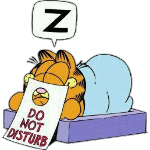 Garfield I - Sticker 22