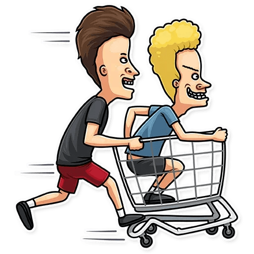 Beavis And Butt-head - Sticker 27