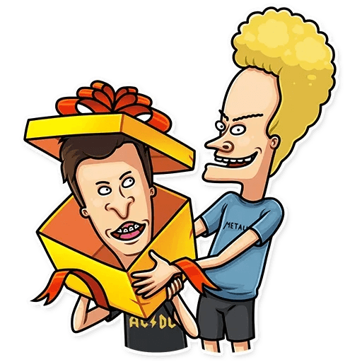 Beavis And Butt-head - Sticker 24