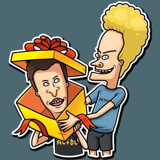 Beavis And Butt-head - Sticker 24