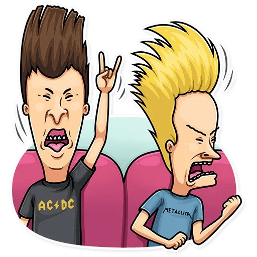 Beavis And Butt-head - Sticker 9