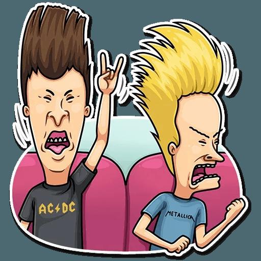 Beavis And Butt-head - Sticker 9