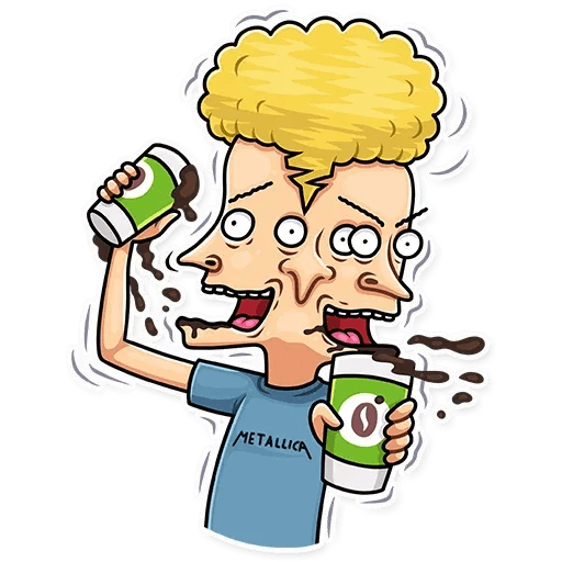Beavis And Butt-head - Sticker 6