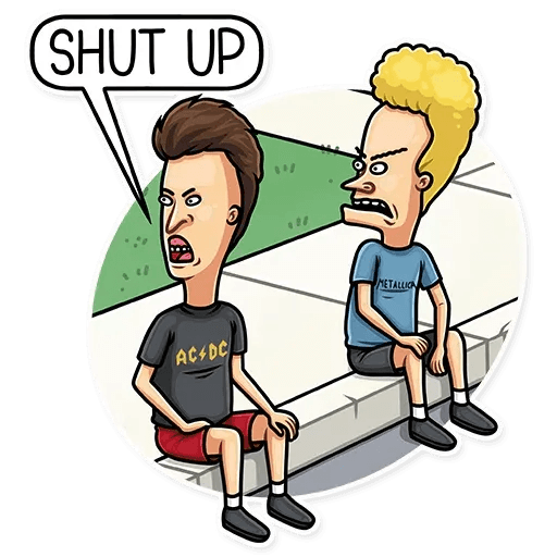 Beavis And Butt-head - Sticker 8