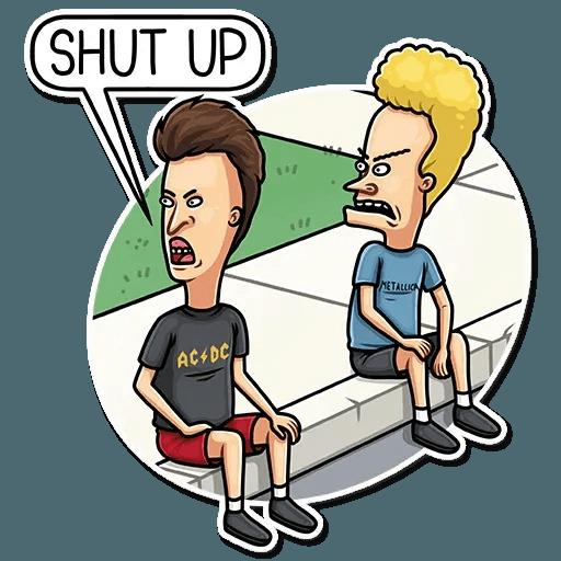 Beavis And Butt-head - Sticker 8