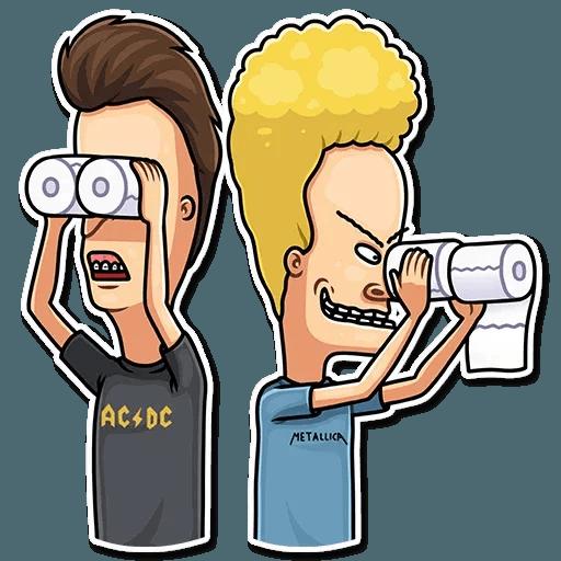 Beavis And Butt-head - Sticker 29