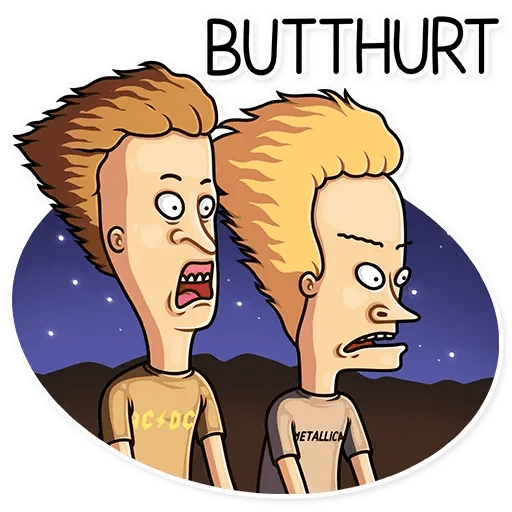 Beavis And Butt-head - Sticker 26