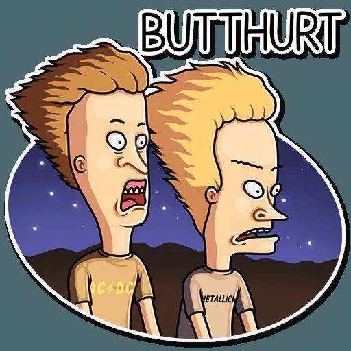 Beavis And Butt-head - Sticker 26