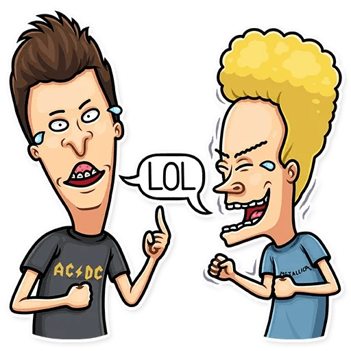 Beavis And Butt-head - Sticker 2