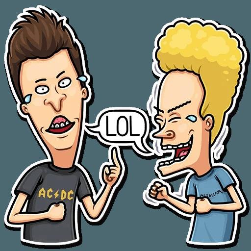 Beavis And Butt-head - Sticker 2