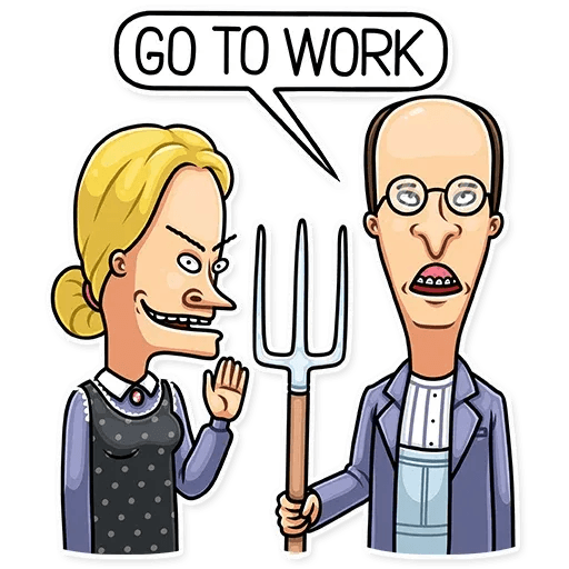 Beavis And Butt-head - Sticker 10