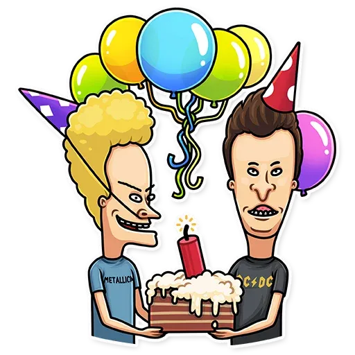 Beavis And Butt-head - Sticker 25