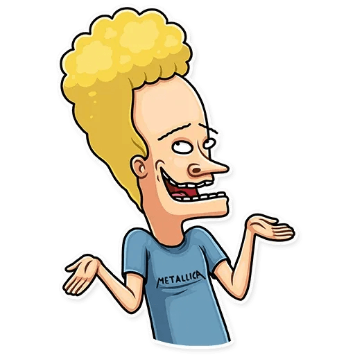 Beavis And Butt-head - Sticker 11