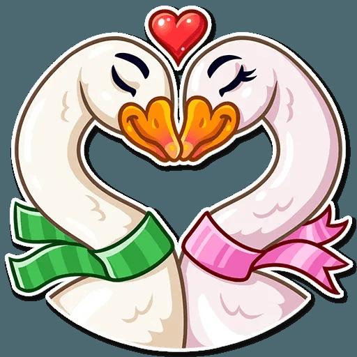 Christmas Goose - Sticker 6