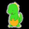 Baby Roary - Tray Sticker